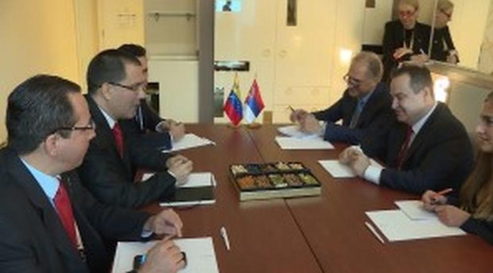 ODNOSI DVE ZEMLJE VEOMA DOBRI: Dačić sa ministrom inostranih poslova Venecuele (VIDEO)