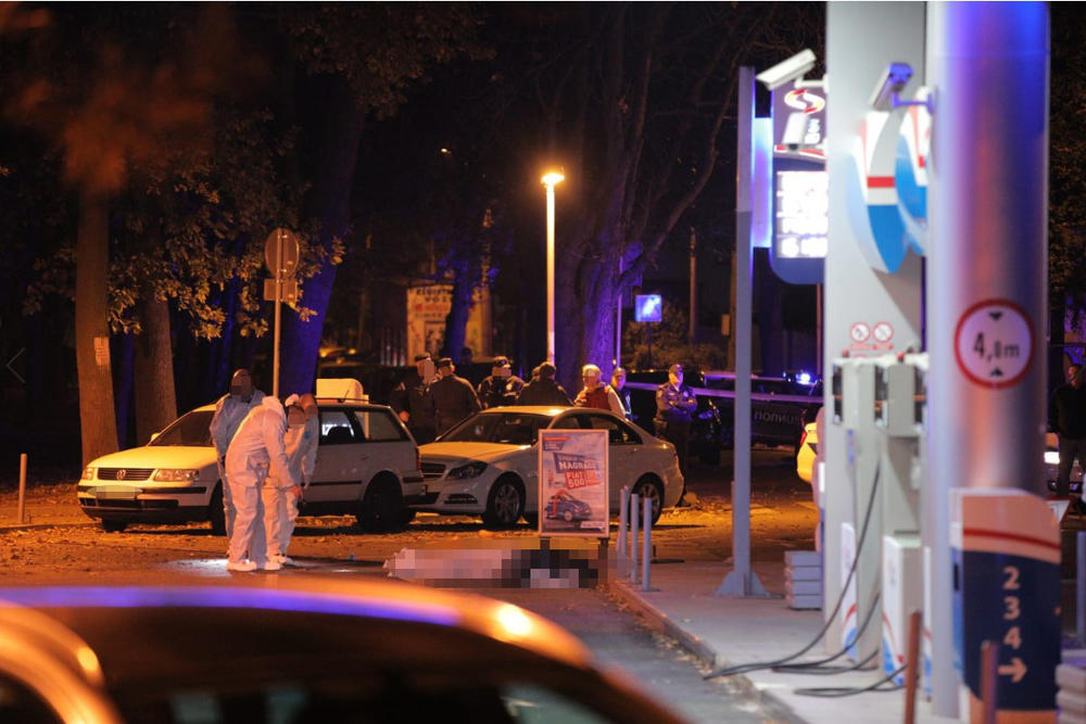Ljubomir Marković Kića, ubistvo, uviđaj