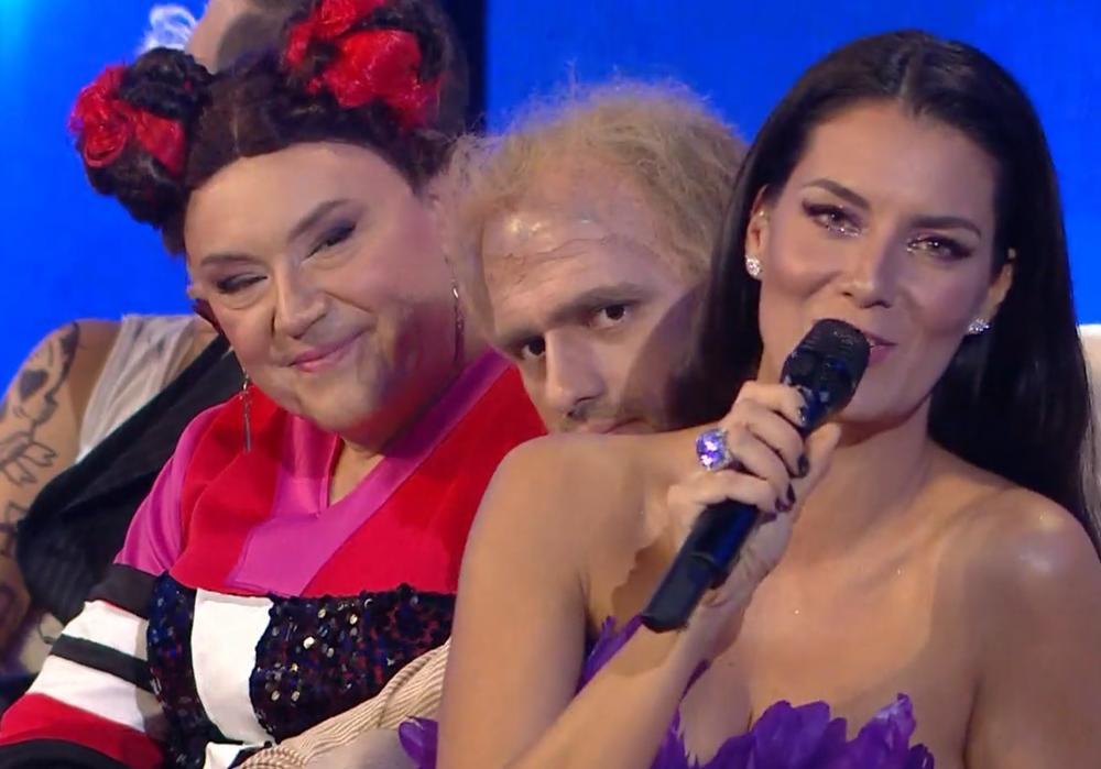 KNEZ IZDOMINIRAO U TLZP! Evo kako je pevač SKINUO evrovizijsku učesnicu! ZADIVIO! (FOTO)