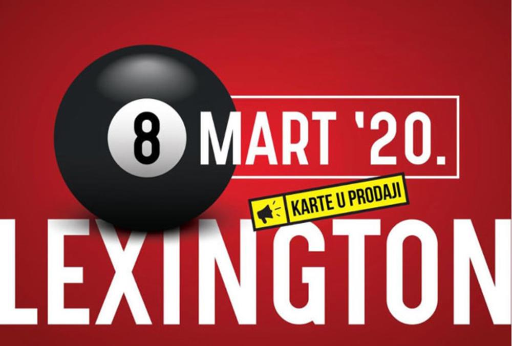 NAJLEPŠI POKLON ZA 8. MART: Koncert Lexington benda za sve ljubitelje kvalitetnog pop zvuka