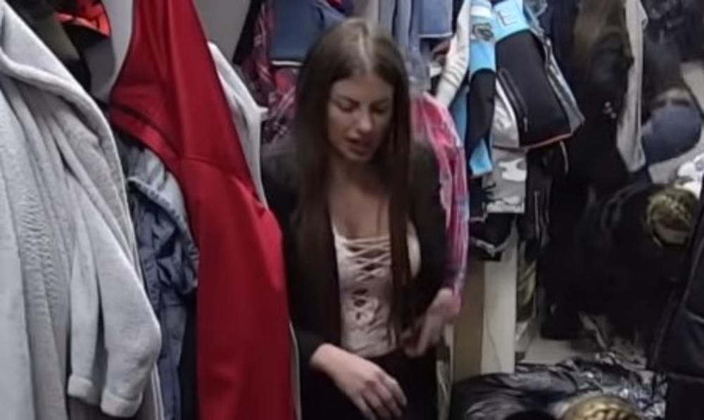 NEĆETE ZNATI DA LI DA GLEDAJTE U GRUDI ILI ZADNJICU: Dragana Mitar se skidala pred kamerama kao da je KUĆI! VRELO! VIDEO