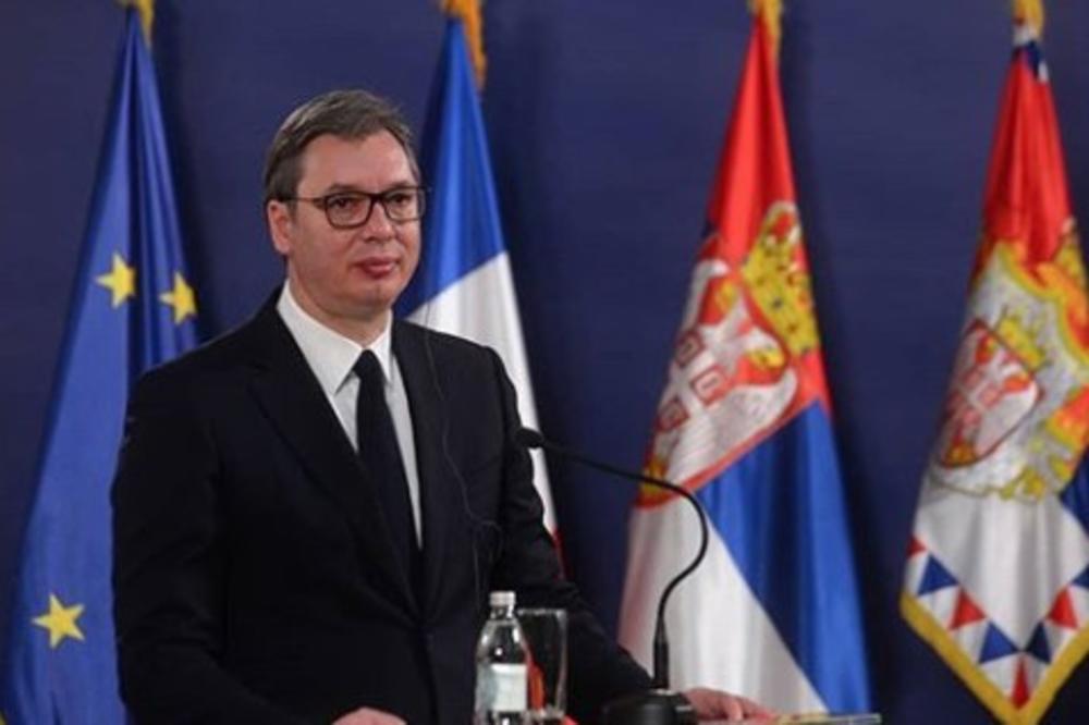 VUČIĆ DANAS SA PATRIJARHOM I DODIKOM: Sastanak u 11 sati s predstavnicima Srba iz regiona