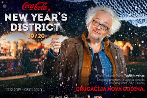 UŽIVO PRENOS SA COCA-COLA x NEW YEAR'S DISTRICT FESTIVALA: Beogradska filharmonija i Ivan Tasovac