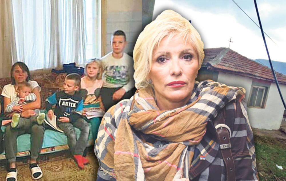 CAKANA OBEZBEDILA MAJKU SA ČETVORO DECE! Pevačica je porodici Vićentijević poslala novac da kupe ogrev i napune frižider