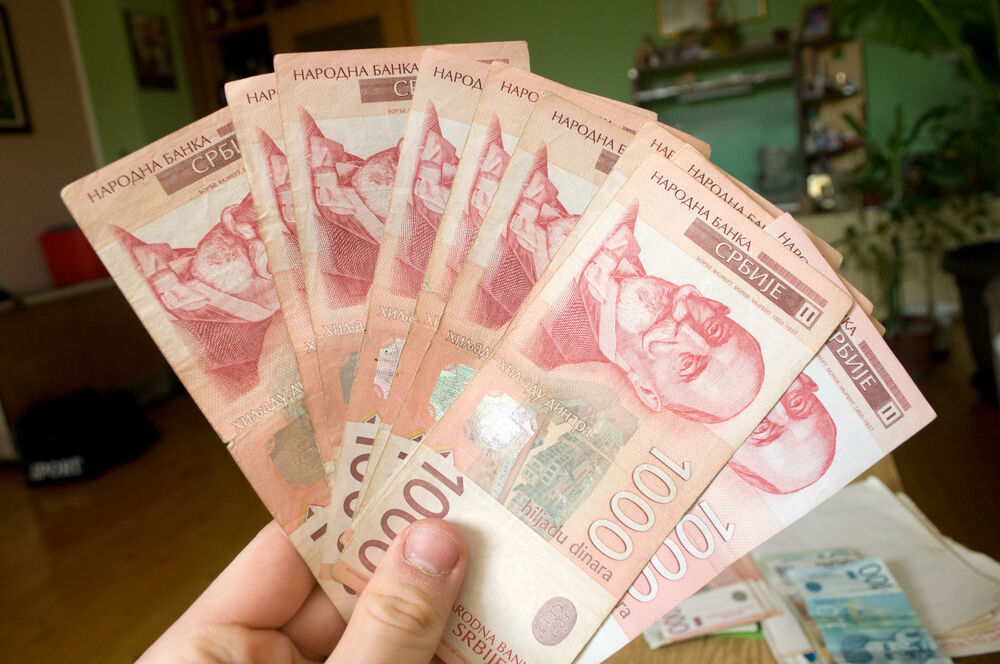 DINAR MIRUJE: Za evro danas 117,57 po srednjem kursu