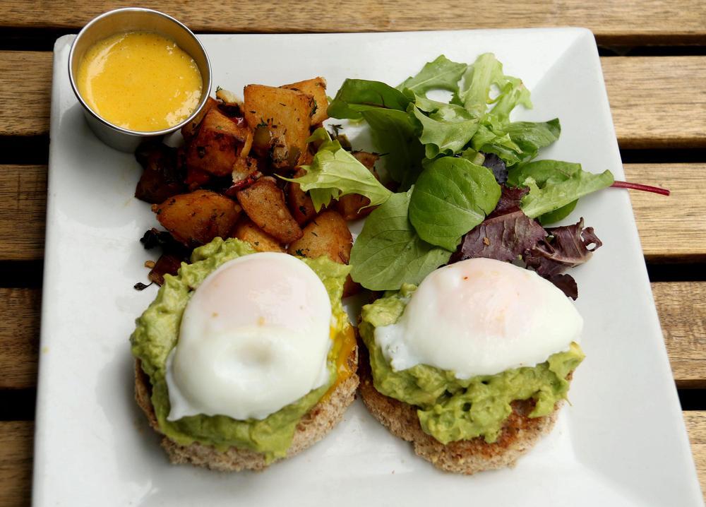 doručak, jaja, avokado