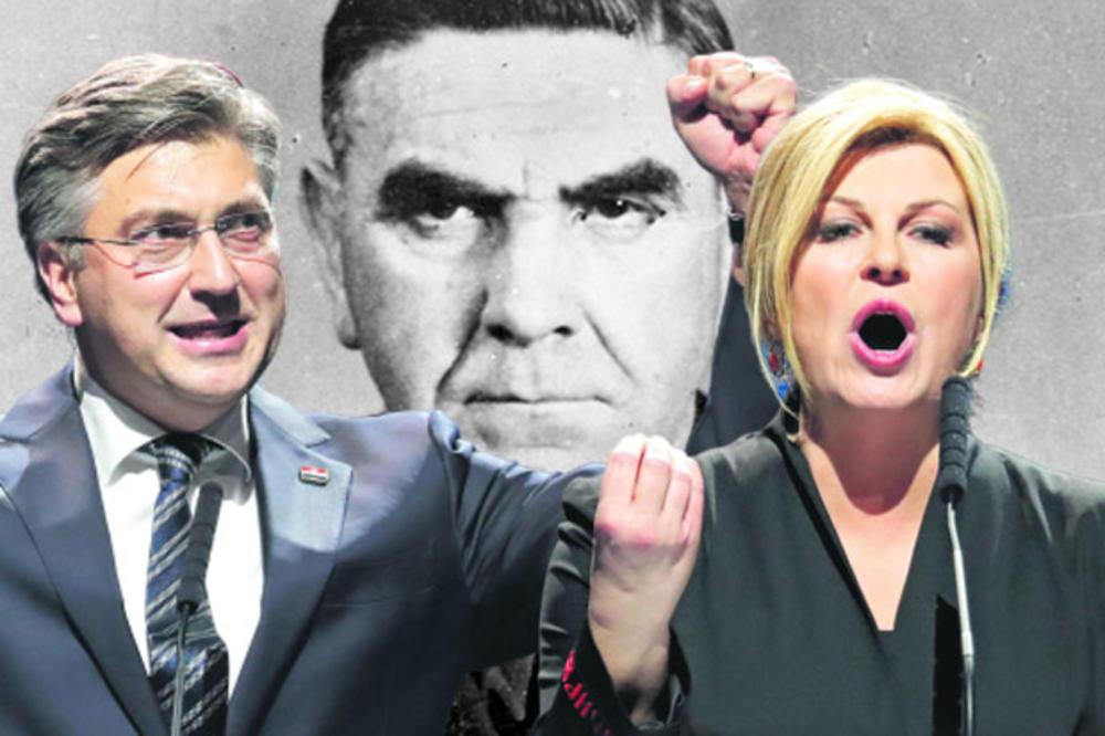 """ZAGREB ŽALI ZA TVORCEM NDH! TOTALNO LUDILO: Hrvati slave ustašu, čestitaju 2020. godinu pozdravom """"Za dom spremni""""!"""