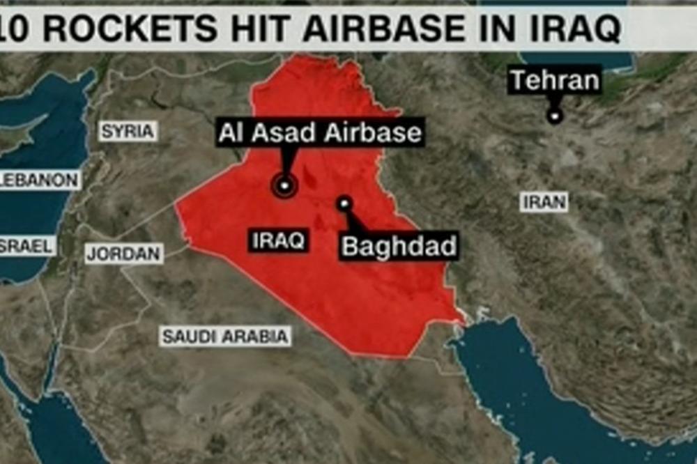 OVO JE RAT! IRAN NAPAO AMERIKANCE balističkim projektilima! Teheran potvrdio: Ovo je OSVETA ZA SULEJMANIJA