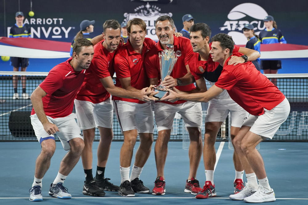 SRBIJA U ISTORIJI SVETSKOG TENISA: Novak i drugovi osvojili prvi trofej ATP Kupa! U finalu pala Španija (VIDEO)