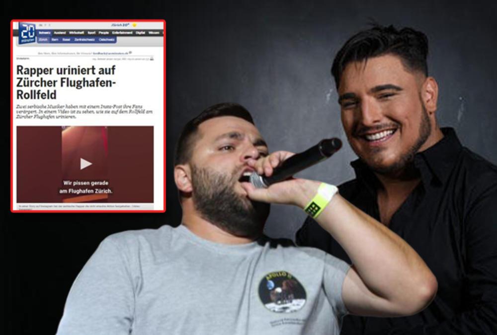 OBRUKAŠE SRBIJU! GDE VAM JE KUĆNO VASPITANJE?! Švajcarci ŠOKIRANI srpskim pevačima! MEDIJI BRUJE O ŠORANJU PO PISTI