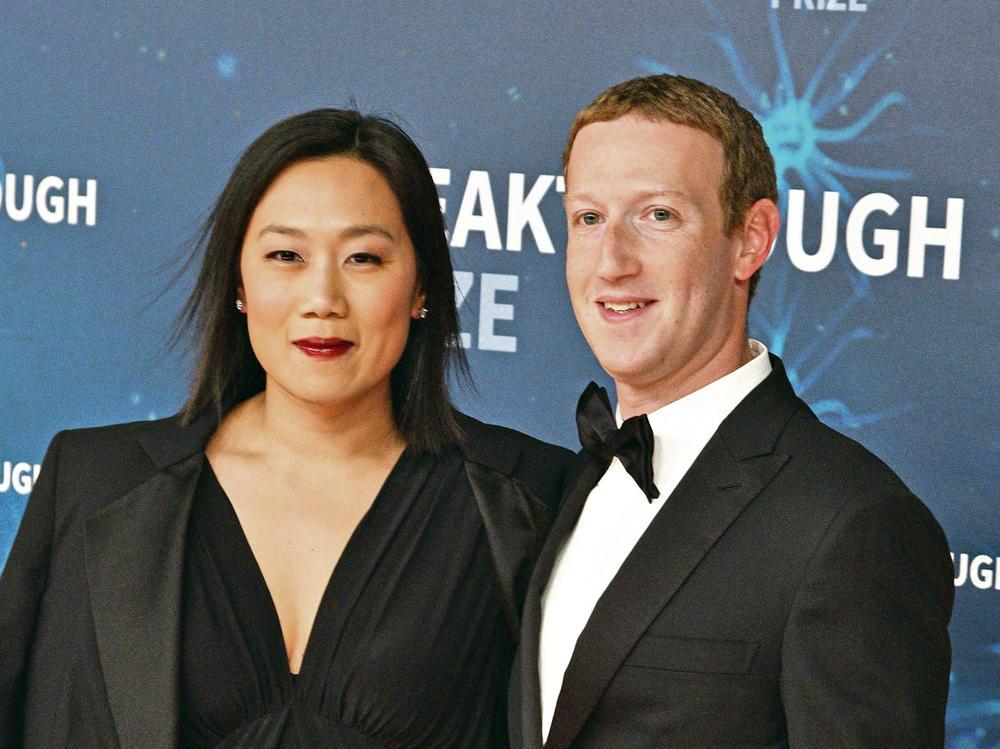 Mark Zakerberg i supruga Prisila Čen