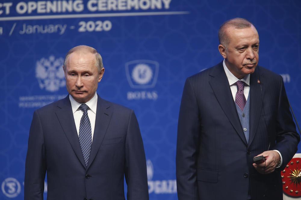 TELEFONSKI RAZGOVOR! Erdogan pozvao na obuzdavanje sirijske operacije u Idlibu, Putin odgovorio: 'Zabrinut sam zbog agresivnih postupaka ekstremističkih grupacija'