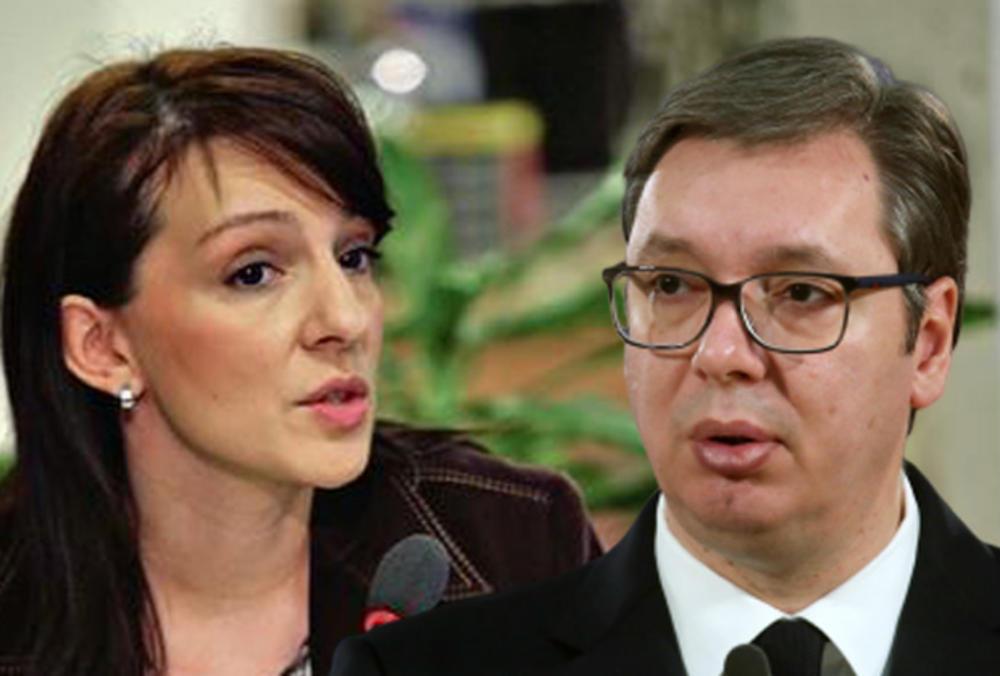 SRAMNO POREĐENJE! Marinika Tepić u skandaloznom tvitu predsednika Srbije uporedila sa Hitlerom! (FOTO)