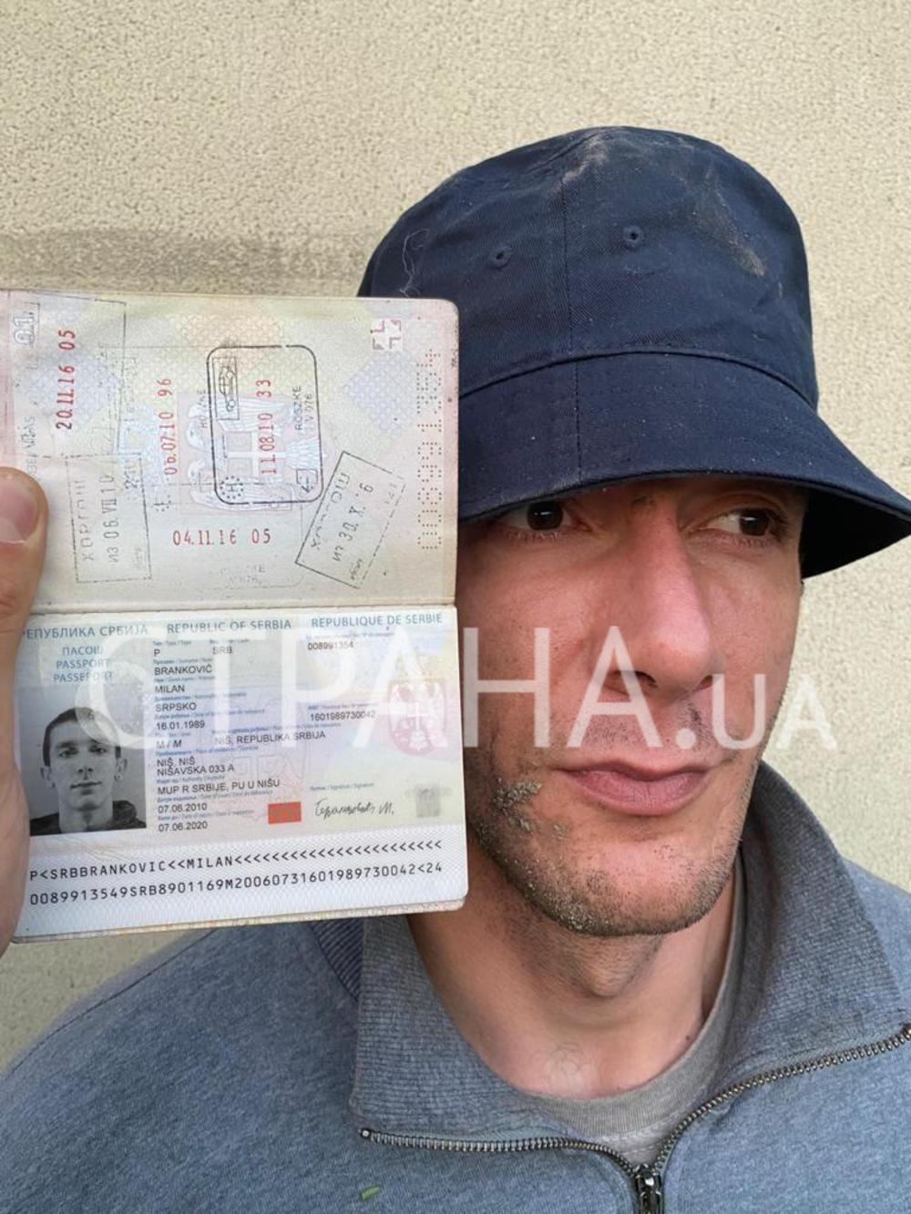 Uhapseni Srbin