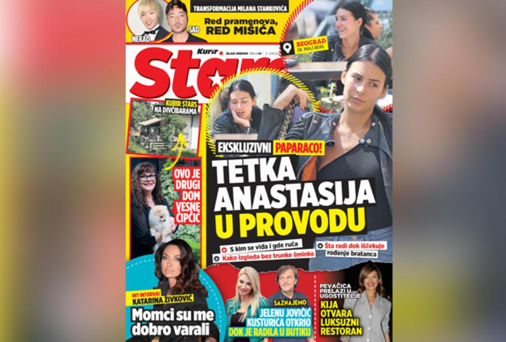 SUTRA POKLON - KURIR STARS! EKSKLUZIVNI PAPARACO: Tetka Anastasija u provodu