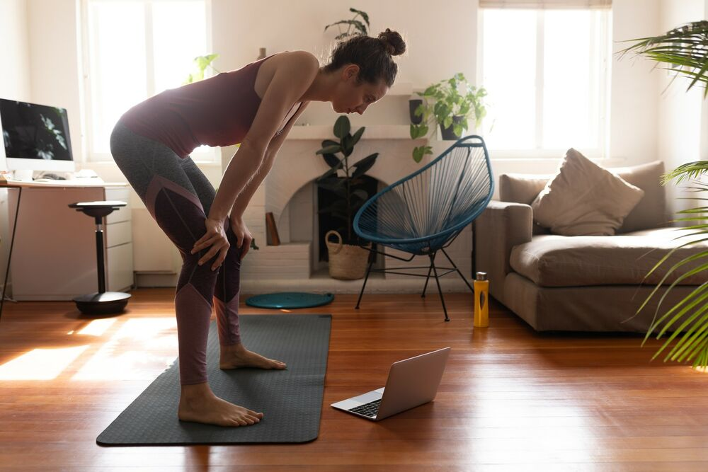 vežbanje, čučnjevi, trening