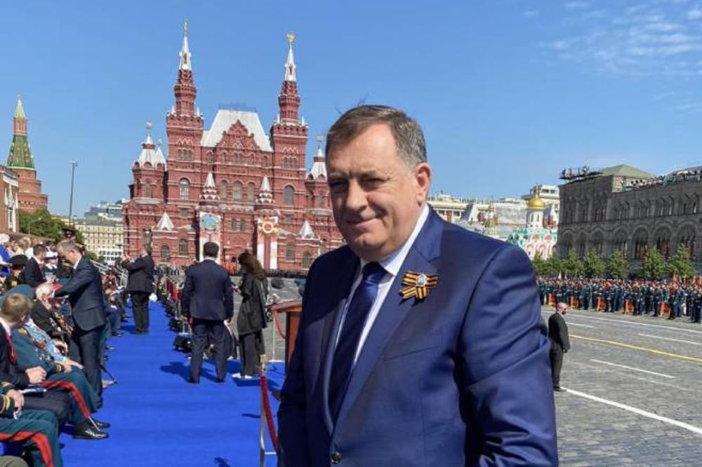 DODIK PISAO PUTINU: Hvala na toplom prijemu u Moskvi! Dužnost nam je da i buduće generacije učimo istini!