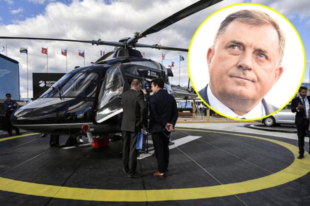 DODIK PRKOSI ZAPADU: Policija RS-a kupila ruske helikoptere, a u Bijeljinu stigli respiratori koje proizvodi ruska firma pod sankcijama SAD-a!