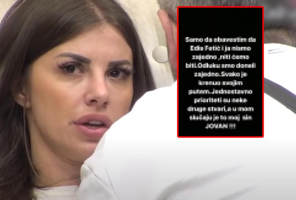 EDIS FETIĆ I JA SMO ODLUKU DONELI ZAJEDNO: Dragana priznala šta se dešava NAPOLJU! Ljubavnici NIKAD ISKRENIJI! (FOTO)