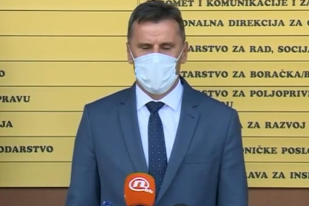 PREMIJER FEDERACIJE BiH ZARAŽEN KORONOM: Fadil Novalić dobio simptome nakon Marša mira