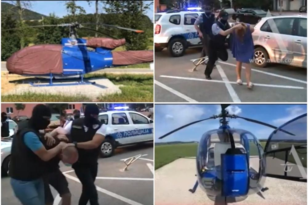 BRAČNI PAR ROSO PRIVUKAO VELIKU PAŽNJU U REGIONU: Evo kako su zarađivali na helikopteru, a već su dobro poznati policiji
