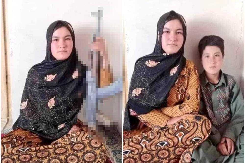 Avganistanska devojcica - crni bombarder