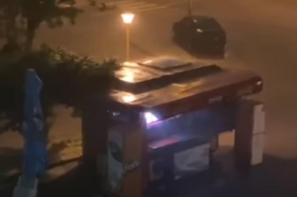 SNAŽNO NEVREME POGODILO TUZLU: Ulice poplavljene, vetar lomio drveće, proglašeno stanje prirodne nesreće (VIDEO)