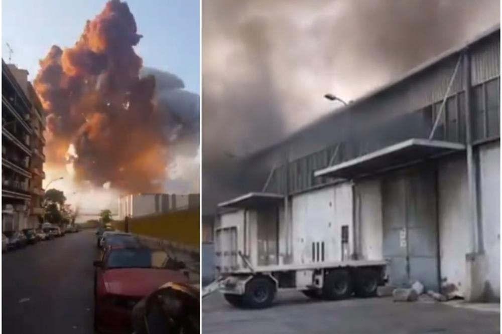 uzrok eksplozije bejrut - crni bombarder portal
