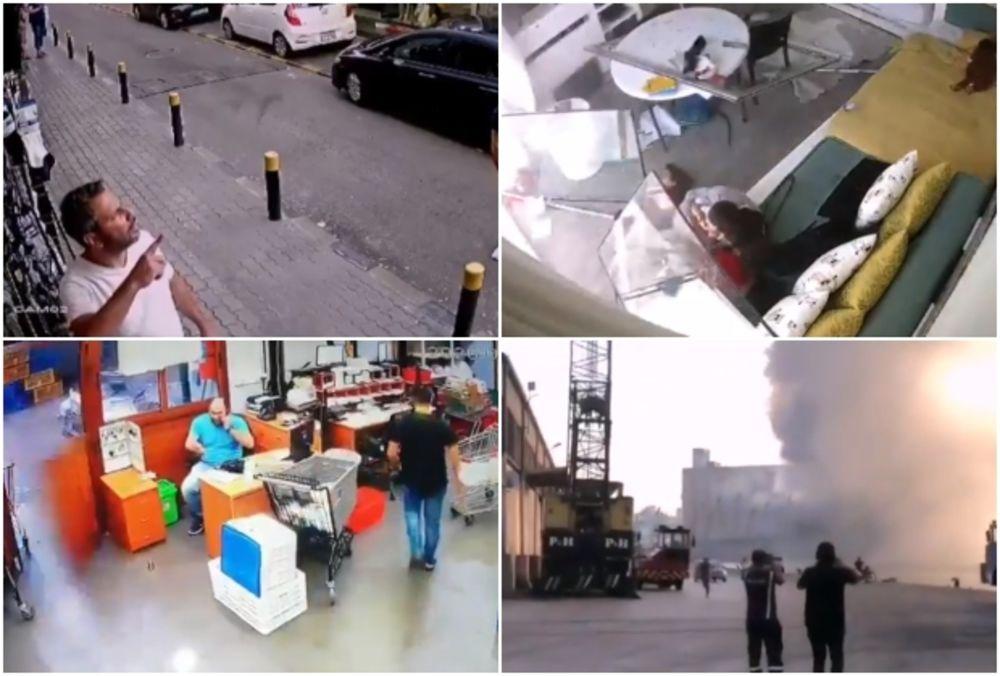 NISU NI SLUTILI ŠTA IH ČEKA: Na ulicama Bejruta građani mirno snimali i šetali, a onda je sve zbrisano u sekundi (VIDEO)