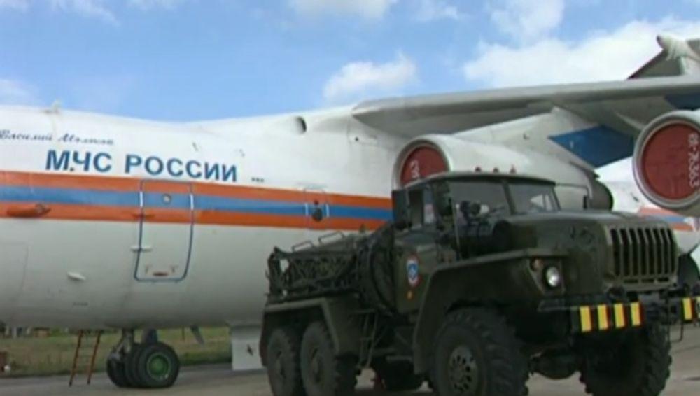 RUSI STIŽU U POMOĆ RAZORENOM BEJRUTU: Prvi ruski avion-bolnica poleteo za Liban! (VIDEO)