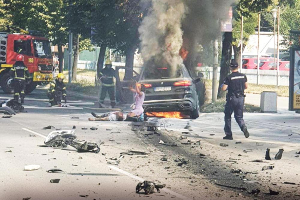 EKSPLOZIJA RAZNELA STRAHINJU U BMW-U: Ubijeni Stojanović povezivan sa egzekucijom Miše Ognjanovića! ČITAJTE U KURIRU
