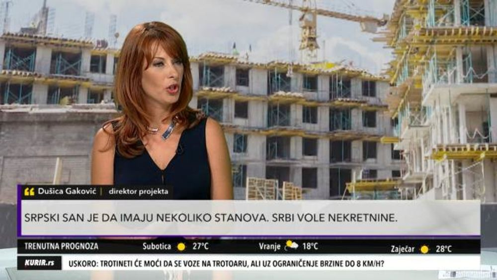 ZGRADE SAMO NIČU, A CENE NEKRETNINA RASTU: Evo zašto su stanovi u Beogradu sve skuplji?! (KURIR TELEVIZIJA)