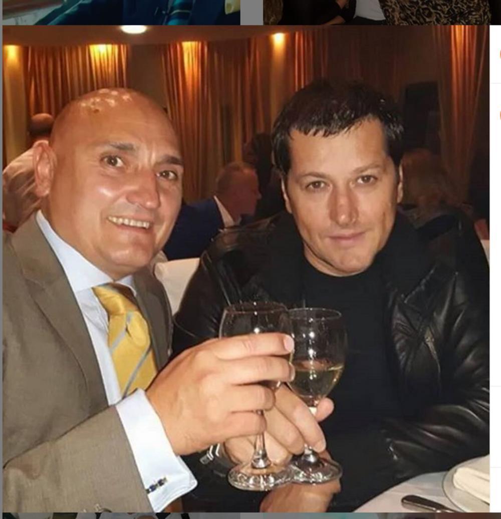 Mario Softa sa Acom Pejovićem sa kojim je sarađivao