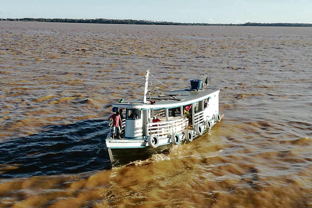 HOW I SAILED ON THE AMAZON: I hitched rides on boats the way I got car rides in Germany!