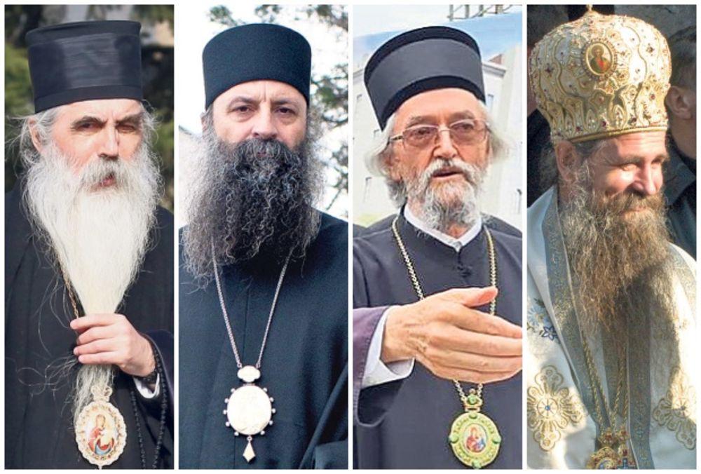 NASLEDNIK PATRIJARHA IRINEJA: Na čelo crkve dolaze Irinej Bački, Porfirije, Jefrem ili Joanikije! Ovo je najuži izbor za TRON SPC