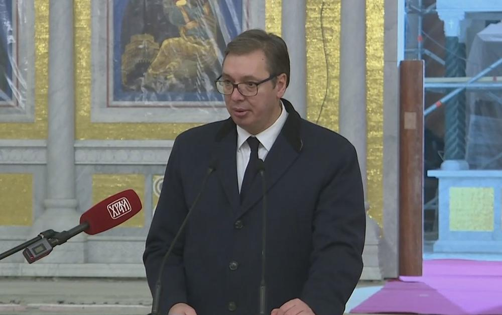 Aleksandar Vučić, Sergej Lavrov