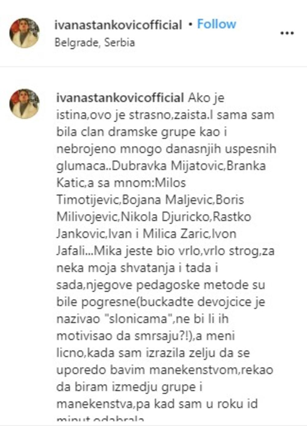 Ivana Stanković, Miroslav Mika Aleksić