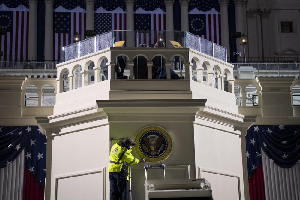 Vašington, inauguracija