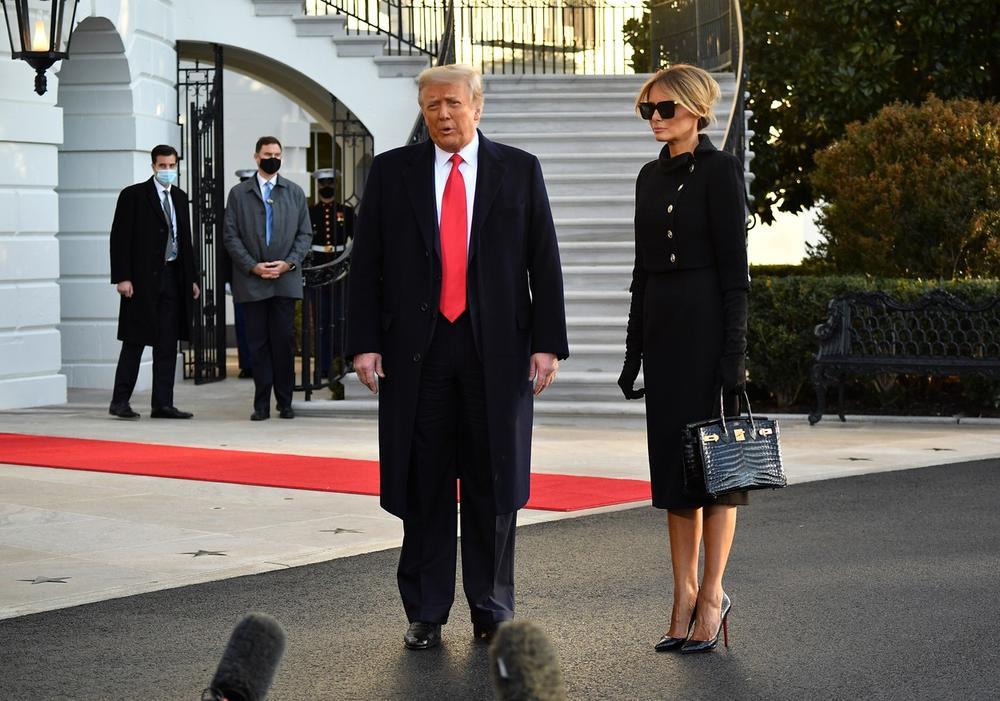 Bela kuća, Donald Tramp, Melanija Tramp