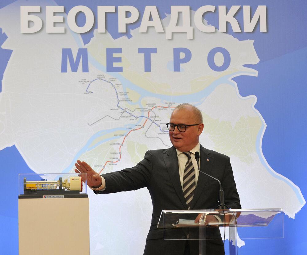 VESIĆ NAJAVIO: Uskoro konkurs za dizajn prvih 16 stanica budućeg metroa