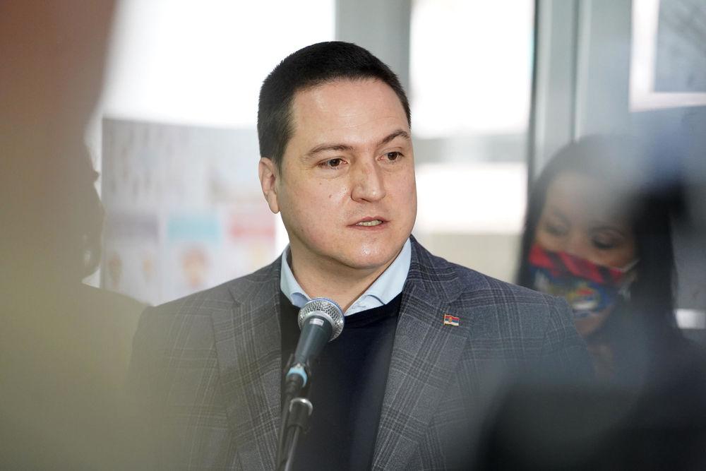Branko Ruzic, 27. januar 2021., Sveti Sava