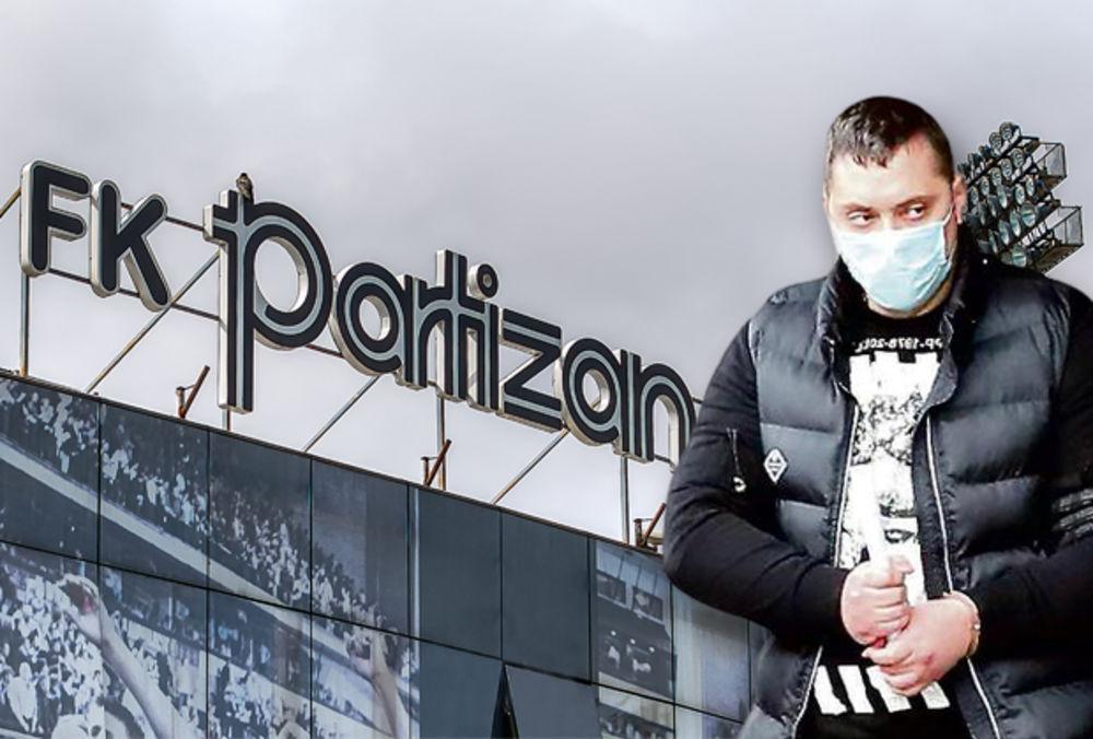 Velja Nevolja, Veljko Belivuk, FK Partizan