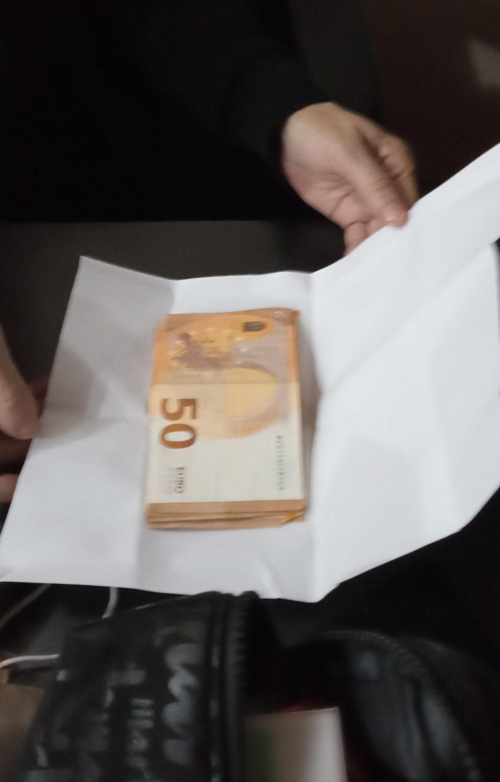 zaplena, novac, mito