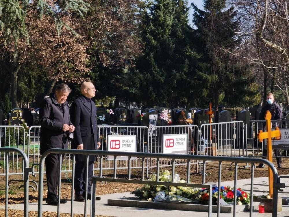 Djordje Balasevic, Đorđe Balašević, sahrana, Novi Sad, Miloš Vučević