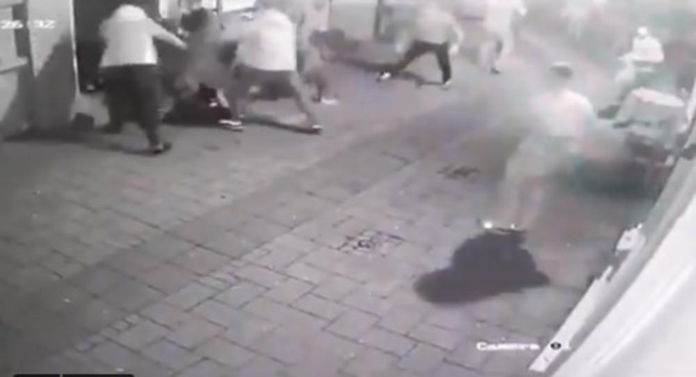 Novi Sad, tuča, mladici, tuca