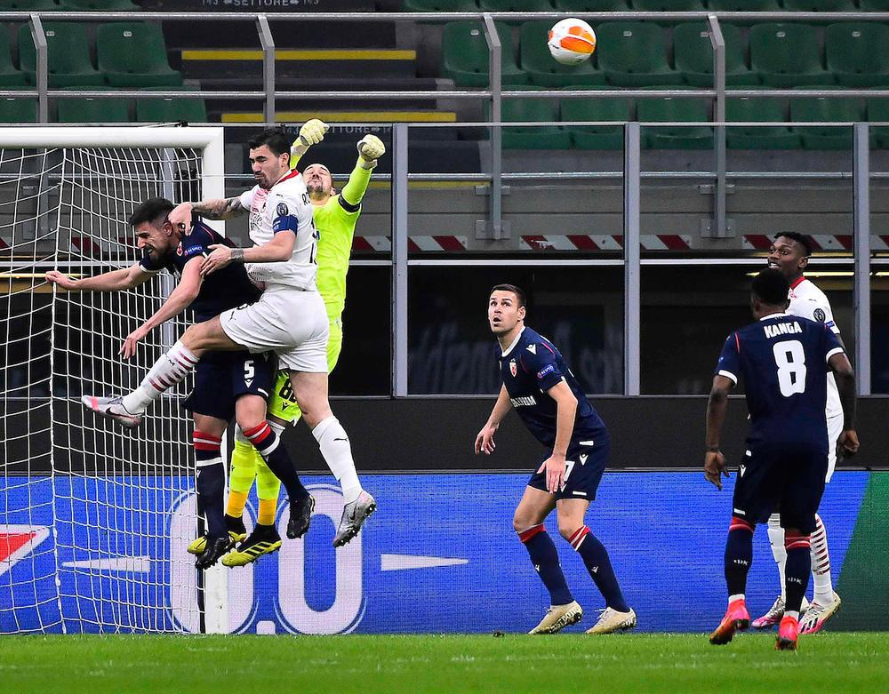 Milan, Crvena zvezda, San Siro, Liga Evrope