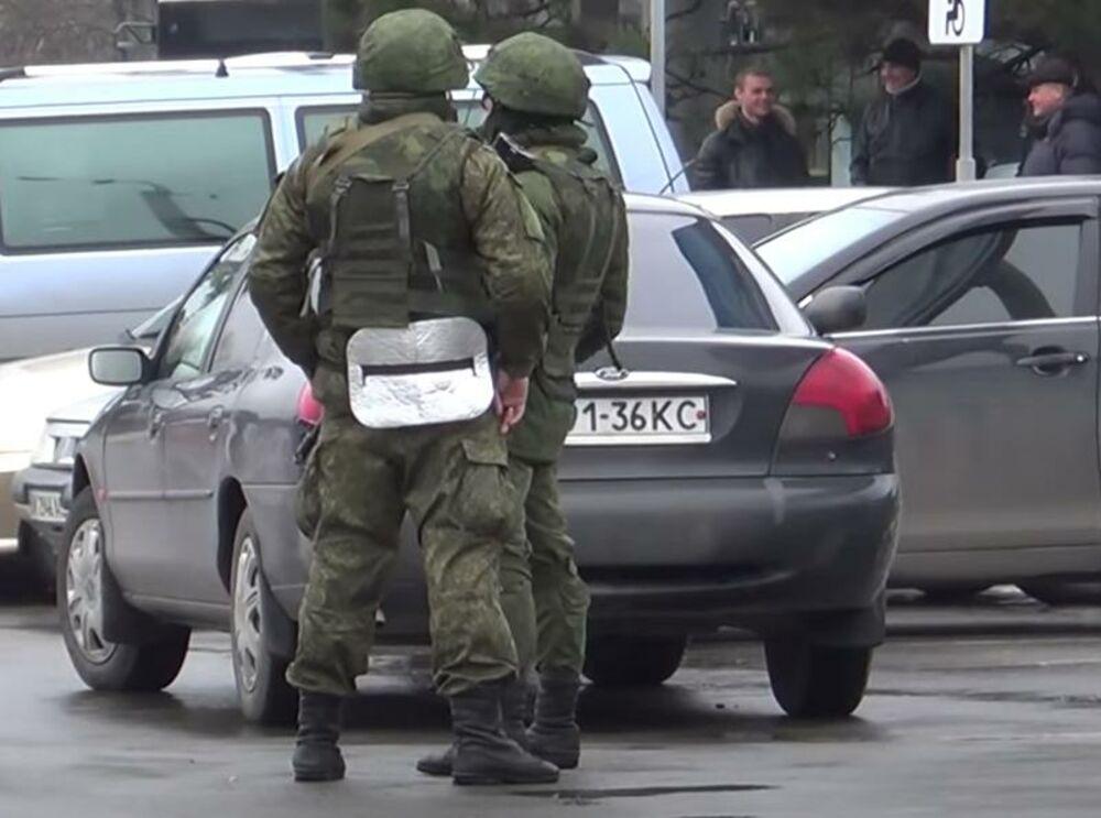 Ruska vojska, Krim, zauzimanje