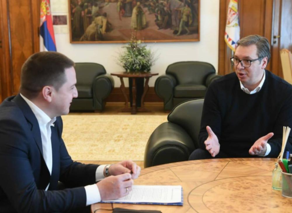 VUČIĆ SE SASTAO S RUŽIĆEM: Razgovarali smo o jednoj od najvažnijih tema za našu Srbiju FOTO