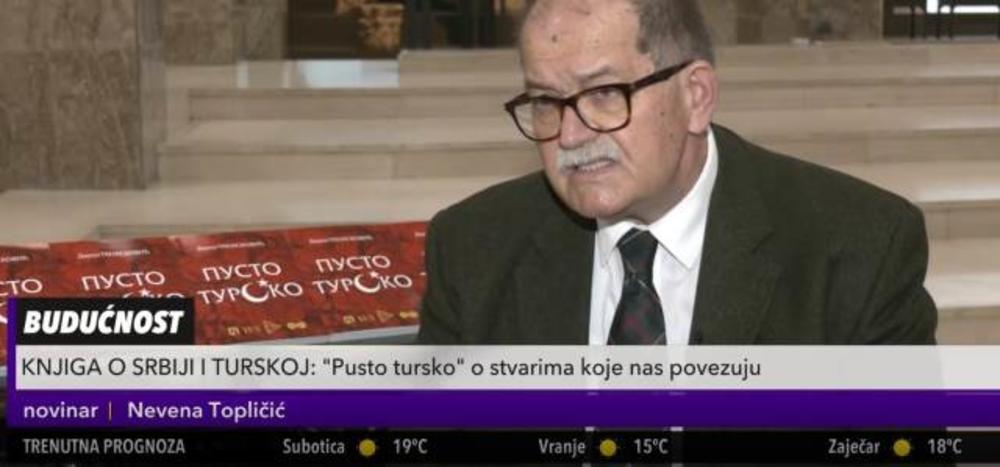 """""""PUSTO TURSKO"""": Posle 10 godina napornog rada izašla knjiga o odnosima Srbije i Turske kroz istoriju (KURIR TELEVIZIJA)"""