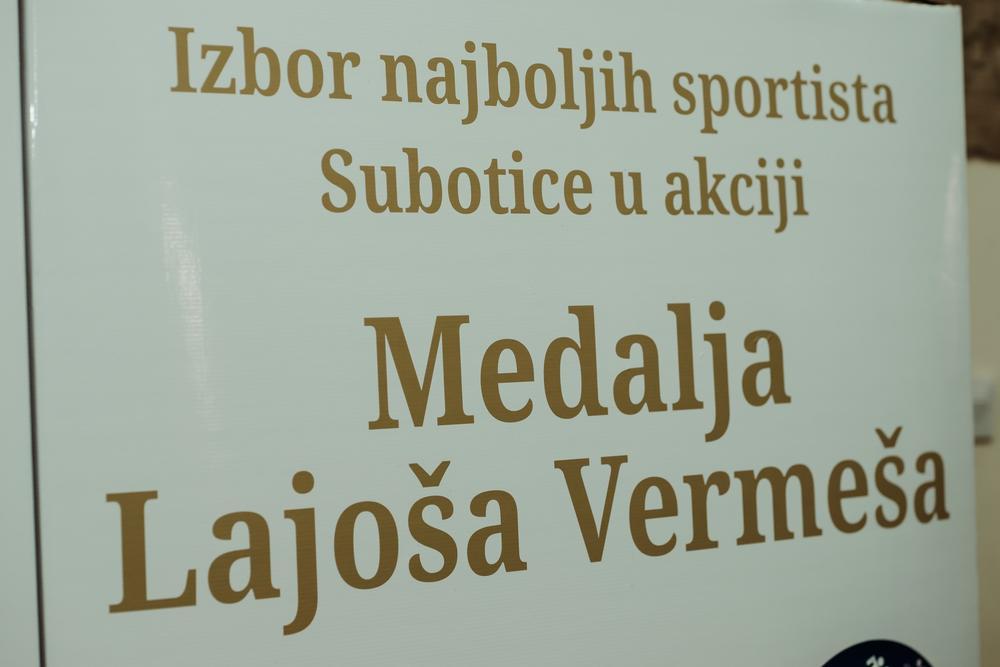 """Uručena priznanja sportistima u okviru akcije """"Medalja Lajoša Vermeša"""""""